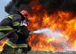 クアンミン工業団地で火災発生