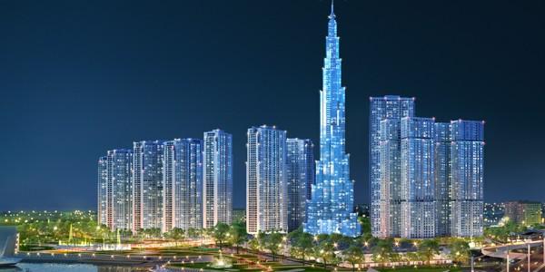 ホーチミン市のVinhomes Central Parkにベトナムで最も高いビル建設へ