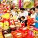 アセアンのお菓子がベトナムの市場やスーパーで流通